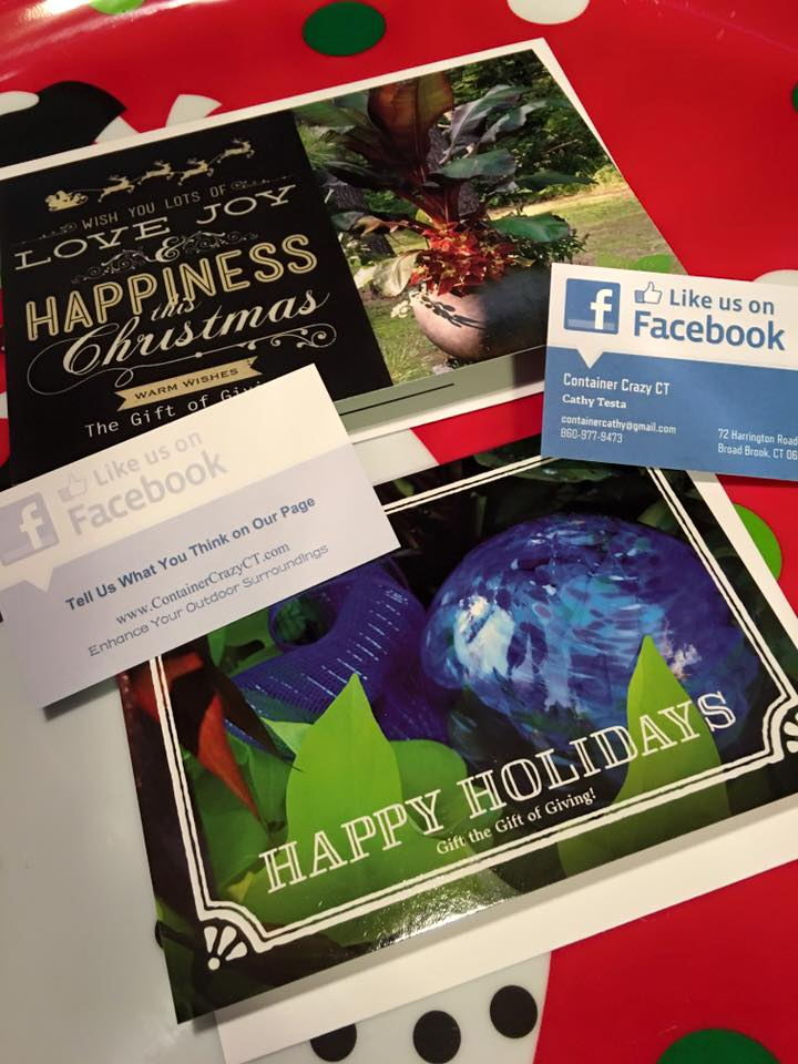 Gift Card w FB cards