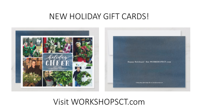 NEW HOLIDAY GIFT CARDS!