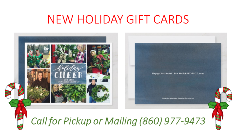 NEW HOLIDAY GIFT CARDS 2018