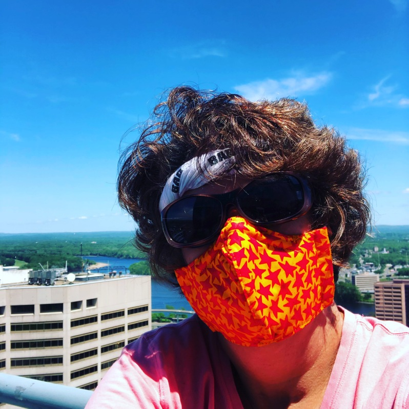 Cathy T with Mask 2